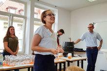TREFFPUNKT Sommerfest 2018: Begrüßung durch Geschäftsführerin Kristina Schimmeyer
