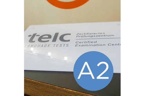telc exam English A2