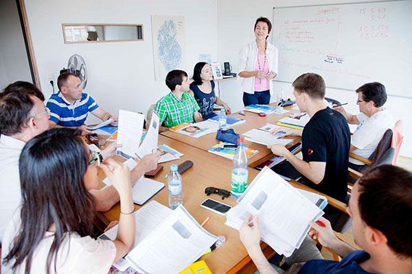 Unterricht beim Sprachinstitut TREFFPUNKT