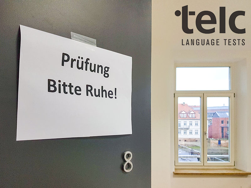 telc exam at Sprachinstitut TREFFPUNKT