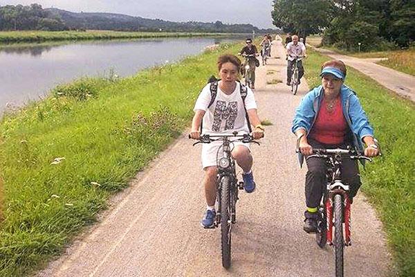 Picture Bike tour - TREFFPUNKT