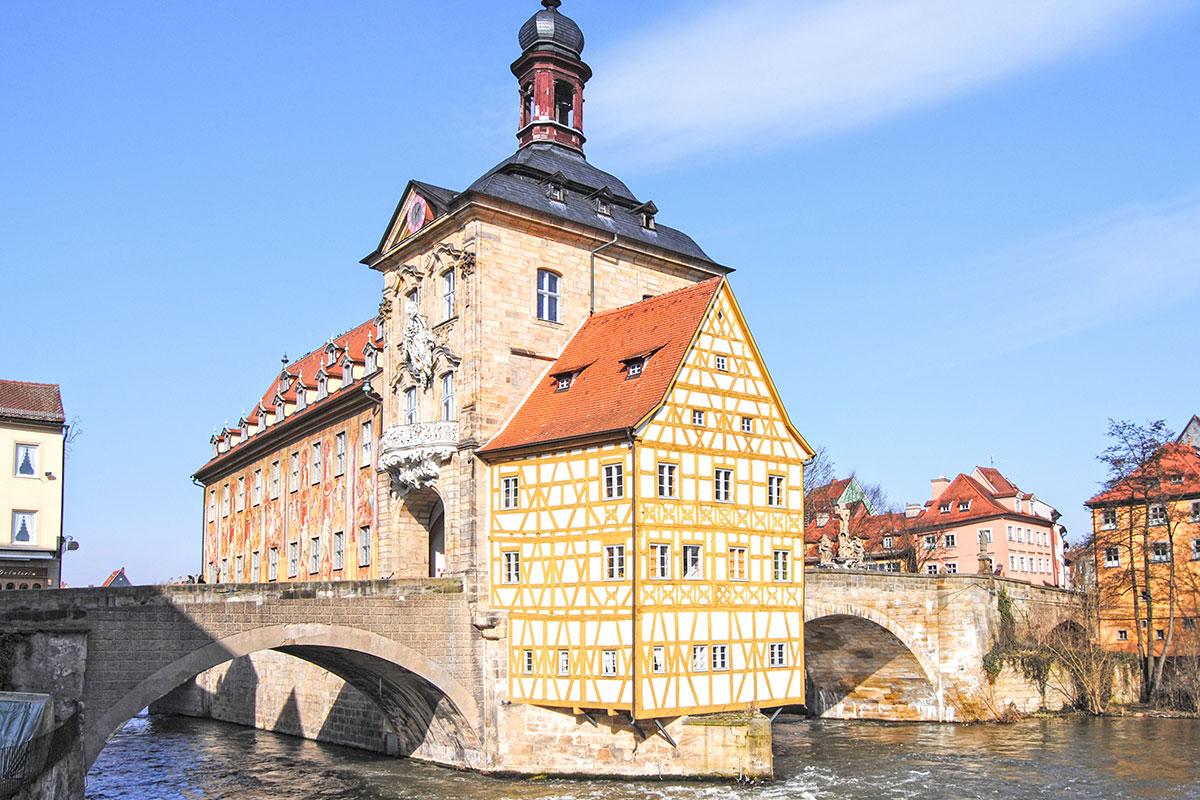 Sprachinstitut TREFFPUNKT Bamberg - World Heritage - Altes Rathaus