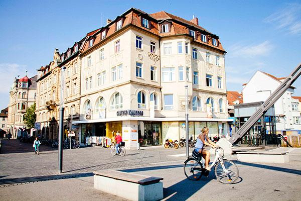Sprachschule Treffpunkt - Schulgebäude Hauptwachstraße Bamberg
