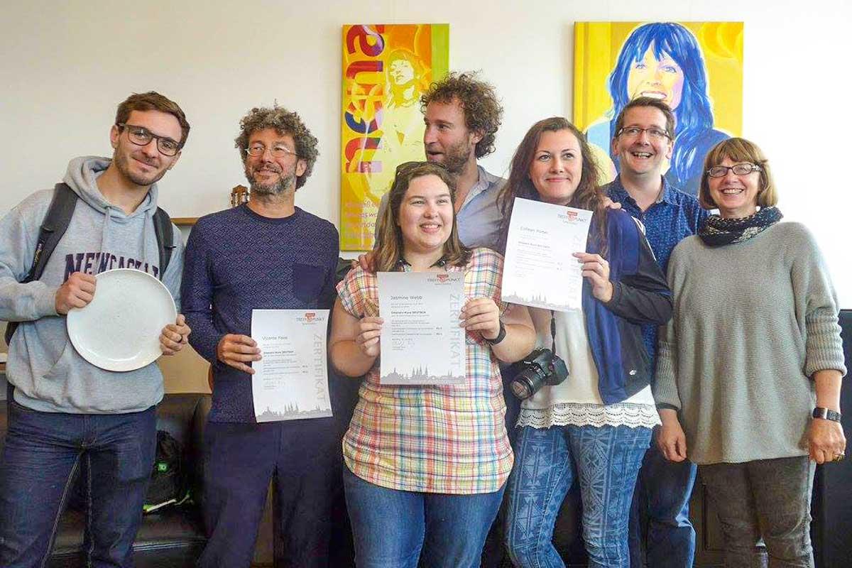 Sprachinstitut TREFFPUNKT - Certificate ceremony